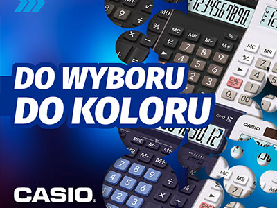 Konkret Plus reklama Casio