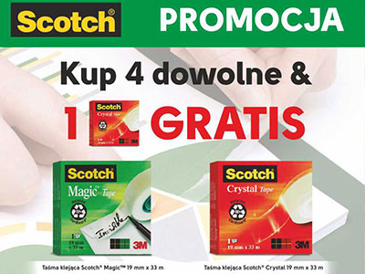 Konkret Plus reklama Scotch